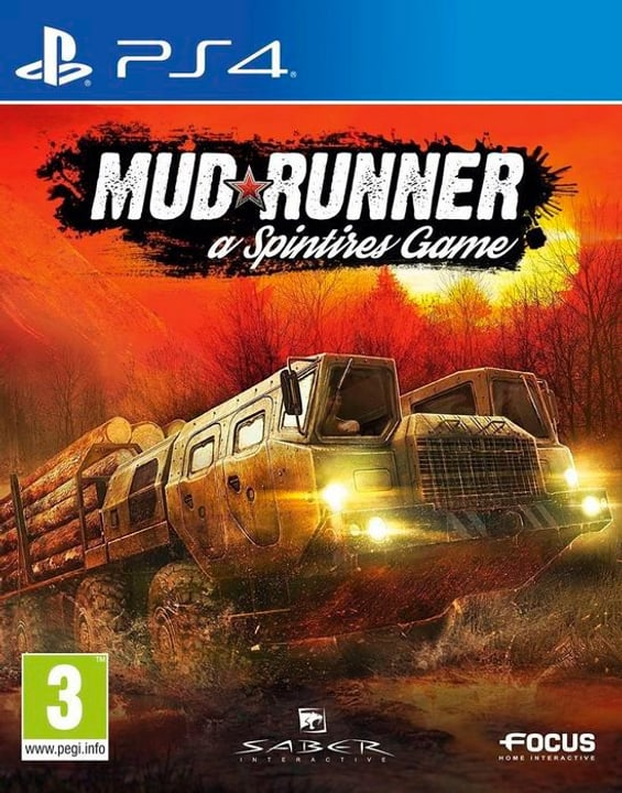 PS4 - Spintires: MudRunner E/D Box 785300130415 Bild Nr. 1