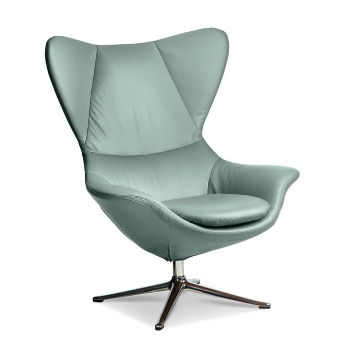 BAYA Sessel, Fuss chrom 360054175006 Grösse B: 90.0 cm x T: 90.0 cm x H: 112.0 cm Farbe Mint Bild Nr. 1