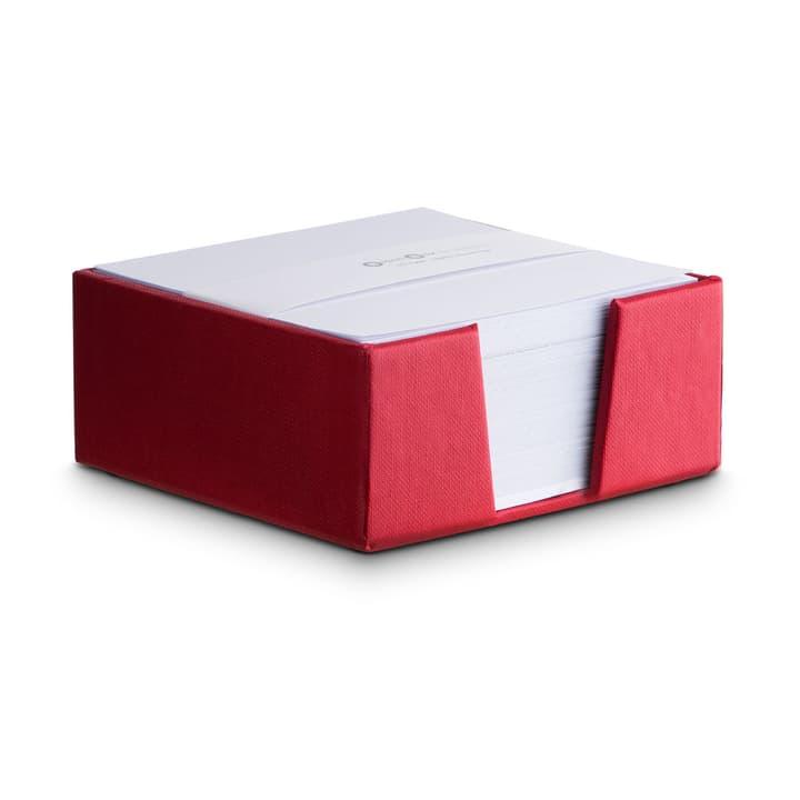 BIGSO CLASSIC Notizzettelhalter 386196200000 Grösse B: 11.0 cm x T: 11.0 cm x H: 5.0 cm Farbe Rot Bild Nr. 1