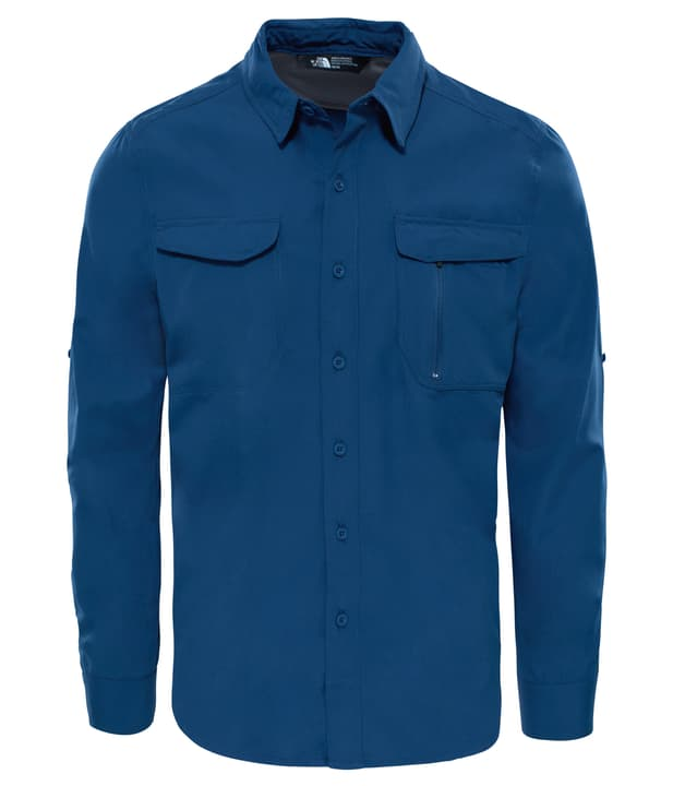 New Sequoia Camicia a maniche lunghe da uomo The North Face 461049800322 Colore blu scuro Taglie S N. figura 1