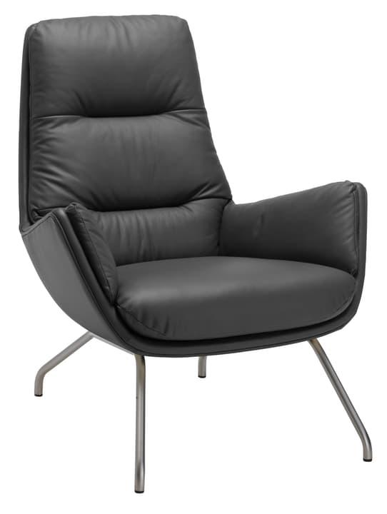 ANDRES Sessel 402452607020 Grösse B: 83.0 cm x T: 87.0 cm x H: 96.0 cm Farbe Schwarz Bild Nr. 1