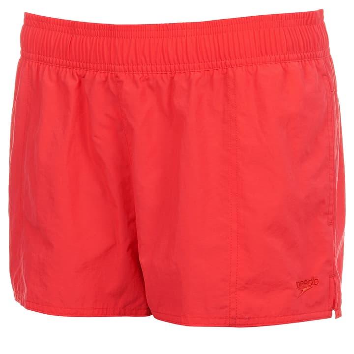 """Female Solid Leisure 10"""" Watershort Short de bain pour dame Speedo 462169500430 Couleur rouge Taille M Photo no. 1"""