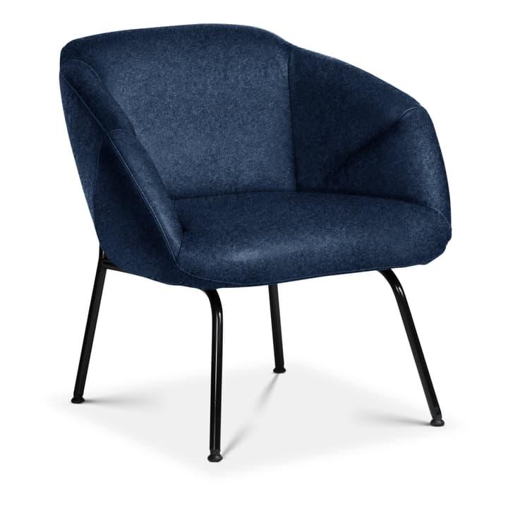 FOILD Poltrona Edition Interio 360441307040 Dimensioni L: 74.0 cm x P: 66.0 cm x A: 76.0 cm Colore Blu N. figura 1