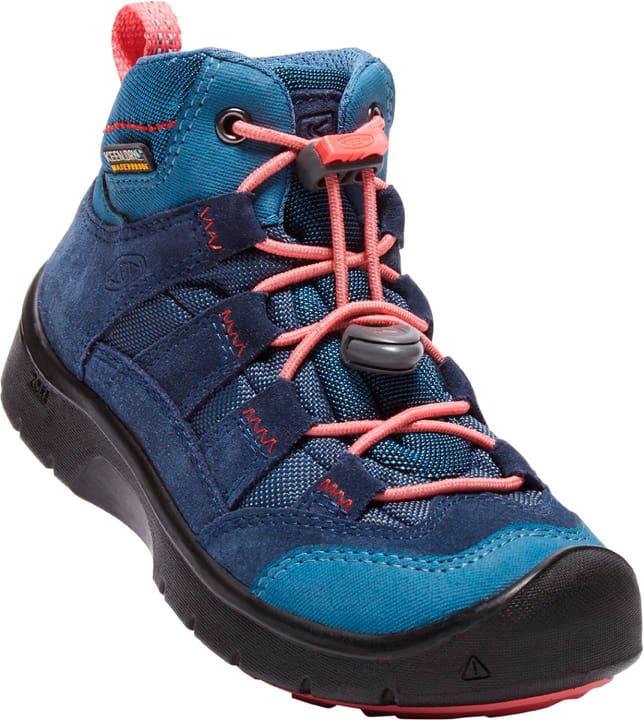 Hikeport Mid WP Scarpa da bambino per il tempo libero Keen 460661234040 Colore blu Taglie 34 N. figura 1