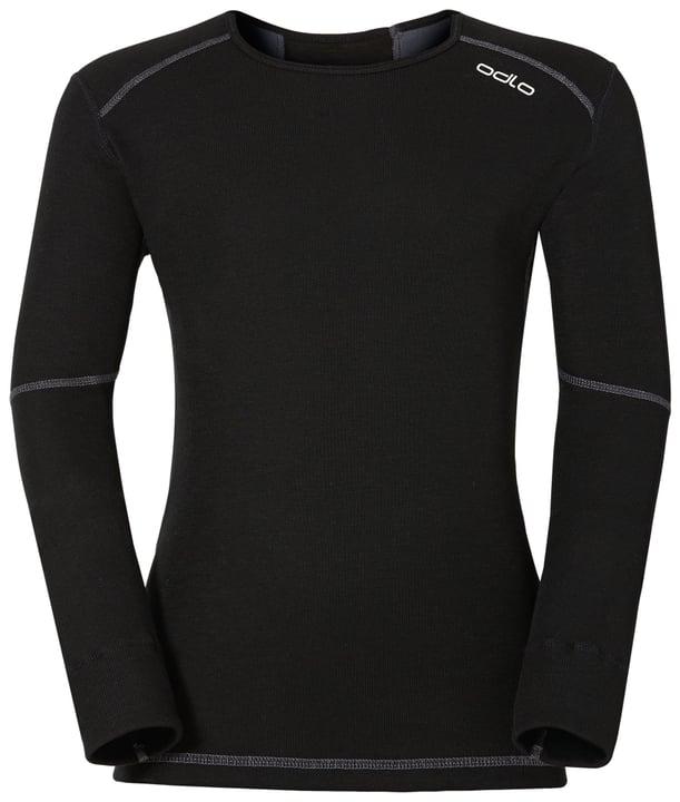 X-Warm Kinder-Thermoshirt Odlo 464507212820 Farbe schwarz Grösse 128 Bild-Nr. 1