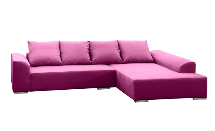 HELLER Ecksofa 405744750023 Grösse B: 274.0 cm x T: 196.0 cm x H: 83.0 cm Farbe Violett Bild Nr. 1