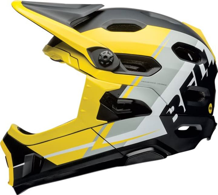 Super DH Casque de velo Bell 465009452050 Couleur jaune Taille 52-56 Photo no. 1