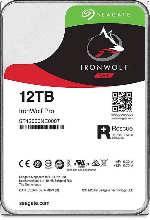 "IronWolf Pro SATA 3.5"" 12 TB Disque Dur Interne HDD Seagate 785300145831 Photo no. 1"