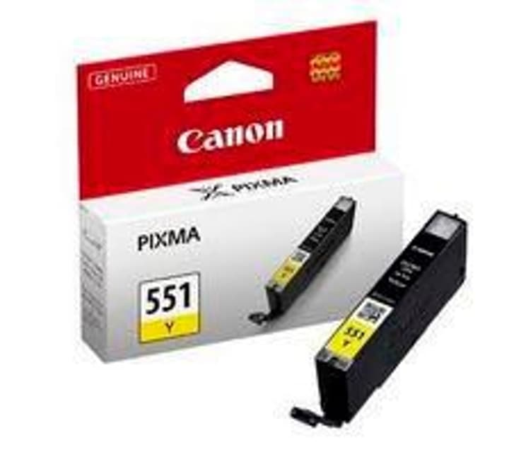 CLI-551Y cartouche d'encre yellow Canon 796078700000 Photo no. 1