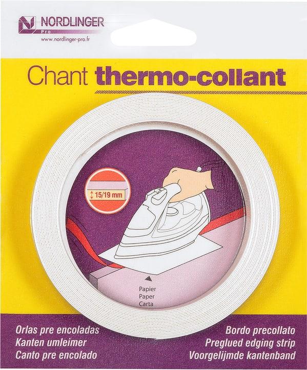 Chant mélaminé thermo-collant 5 m, Décor: blanc mat K101SM 640109000000 Photo no. 1