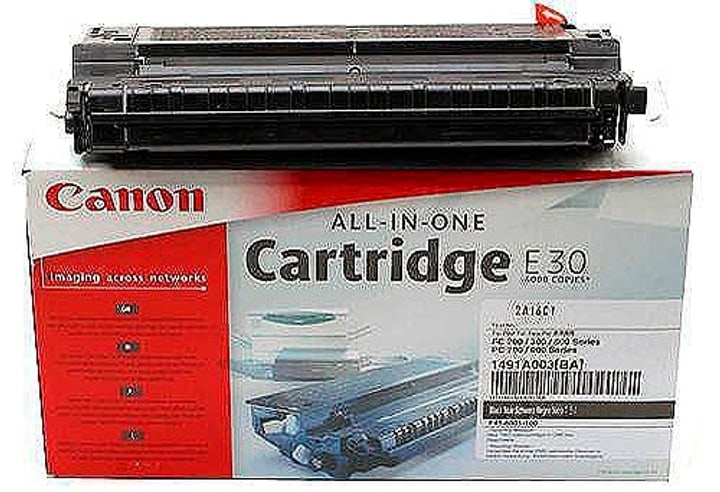 Toner-Modul E30 FC-E schwarz Tonerkartusche Canon 792041000000 Bild Nr. 1