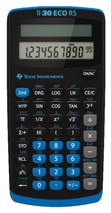 TI-30 ECO RS Calculatrice Texas Instruments 798214700000 Photo no. 1