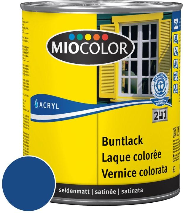 Acryl Vernice colorata satinata Blu genziana 750 ml Miocolor 660552200000 Colore Blu genziana Contenuto 750.0 ml N. figura 1
