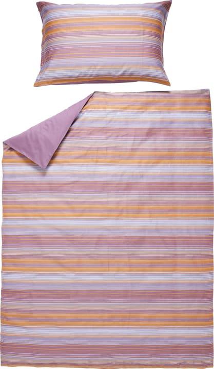 KAY Garnitura da letto in raso 451292314432 Colore Viola Dimensioni L: 160.0 cm x A: 210.0 cm N. figura 1
