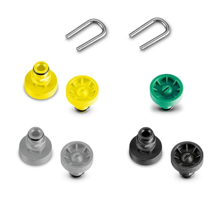 Ricambi bocchette Set per T 400, 450 + 550 Kärcher 616702400000 N. figura 1