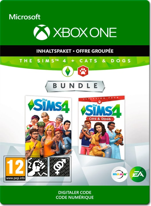 Xbox One - The Sims 4 + Cats&Dogs Download (ESD) 785300140403 Photo no. 1
