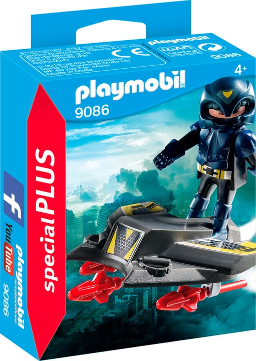 Playmobil Special Plus Guerriero spaziale con Jet 9086 746074400000 N. figura 1