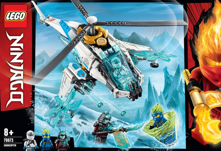 LEGO NINJAGO 70673 Le ShuriCopter 748717100000 Photo no. 1