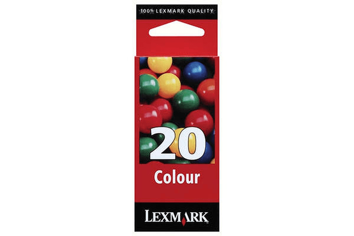 15MX120E cartouche d'encre nr. 20 color Cartouche d'encre Lexmark 797501300000 Photo no. 1