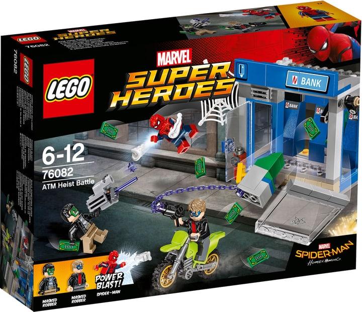 Lego Marvel Super Heroes Rapina armata all'ATM 76082 748858300000 N. figura 1
