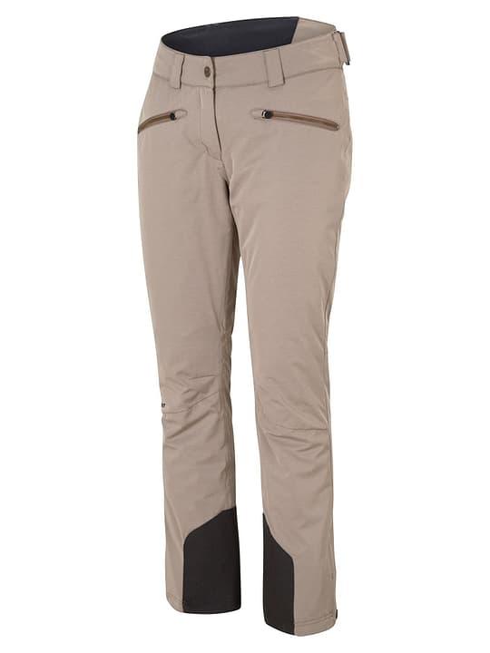 TAIRE Pantalone da sci da donna Ziener 462545904277 Colore fango Taglie 42 N. figura 1