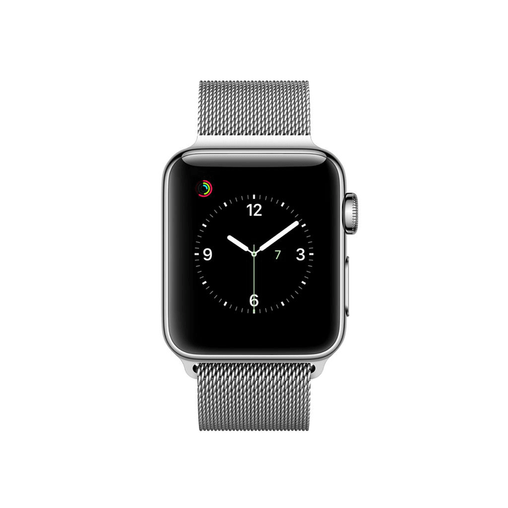 Watch Series 2, 38mm Cassa in acciaio inossidabile con loop in maglia milanese Apple 798147100000 N. figura 1