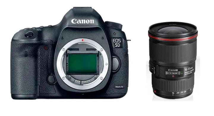EOS 5D Mark IV + EF 16-35mm 4L IS Kit appareil photo reflex Canon 785300126140 Photo no. 1