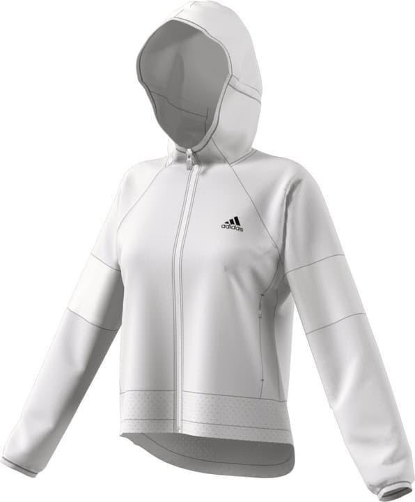 W S2S Wind Jacket Damen-Kapuzenjacke Adidas 464206800410 Farbe weiss Grösse M Bild-Nr. 1