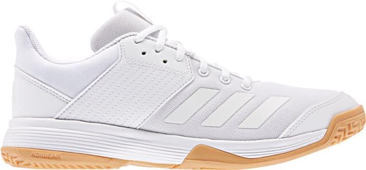 Ligra 6 Damen-Indoorschuh Adidas 461722638010 Farbe weiss Grösse 38 Bild-Nr. 1