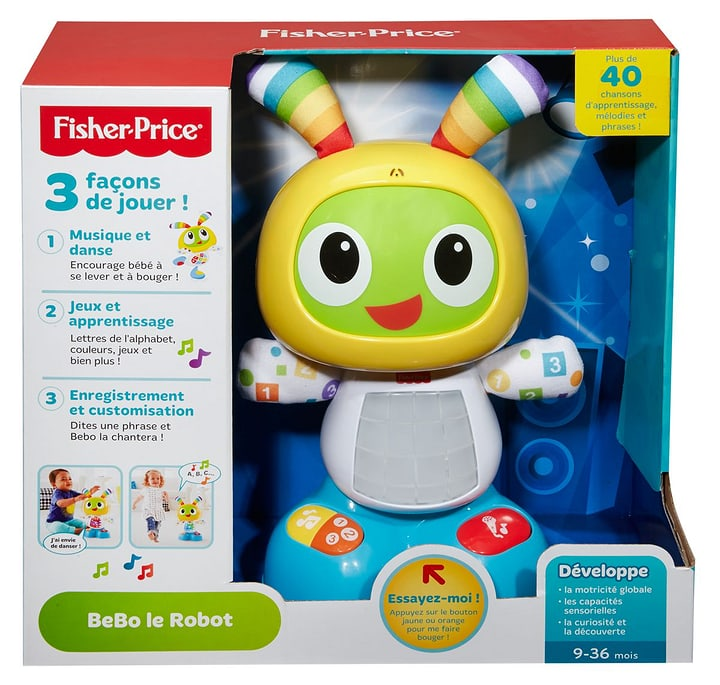 Fisher-Price BeBo Le Robot (F) 746372290100 Photo no. 1