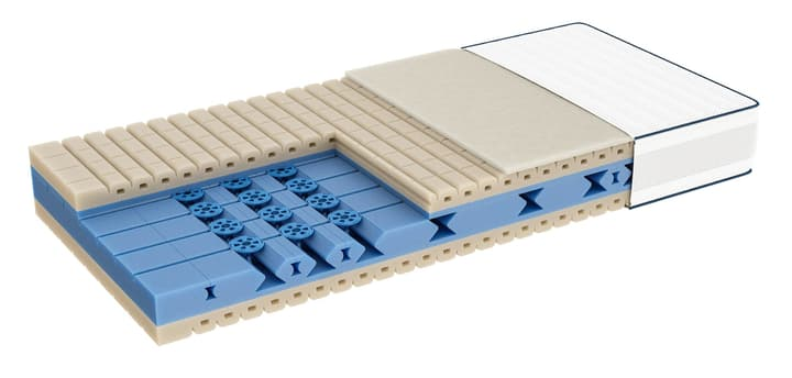 PREMIOTOP Float soft Matelas bico 403331409010 Largeur 90.0 cm Longueur 200.0 cm Photo no. 1