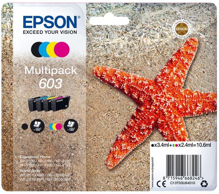 Multipack 603 CMYBK Cartouche d'encre Epson 798266500000 Photo no. 1
