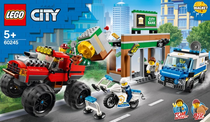 LEGO CITY 60245 Le cambriolage de 748729000000 Photo no. 1