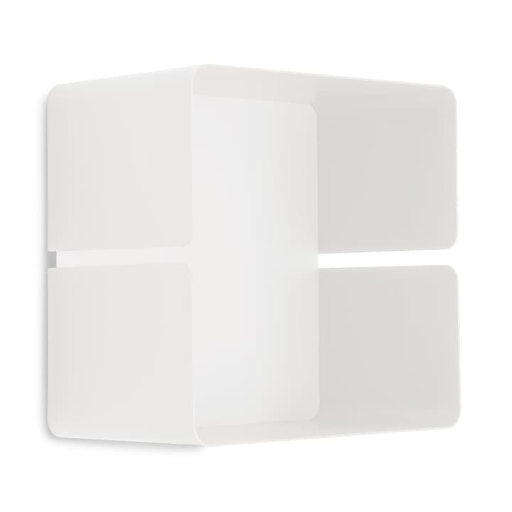 EVELINA Scaffale a muro 362245502010 Dimensioni L: 12.8 cm x P: 20.0 cm x A: 20.0 cm Colore Bianco N. figura 1