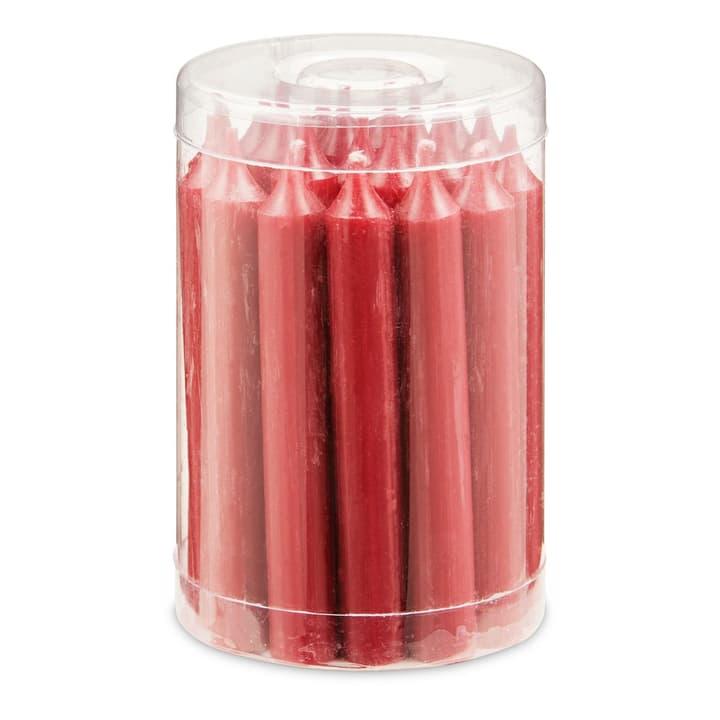 BAUMKERZEN Kerzen 20 Stk. 390172600000 Grösse B: 1.2 cm x T: 1.2 cm x H: 10.2 cm Farbe Dunkelrot Bild Nr. 1