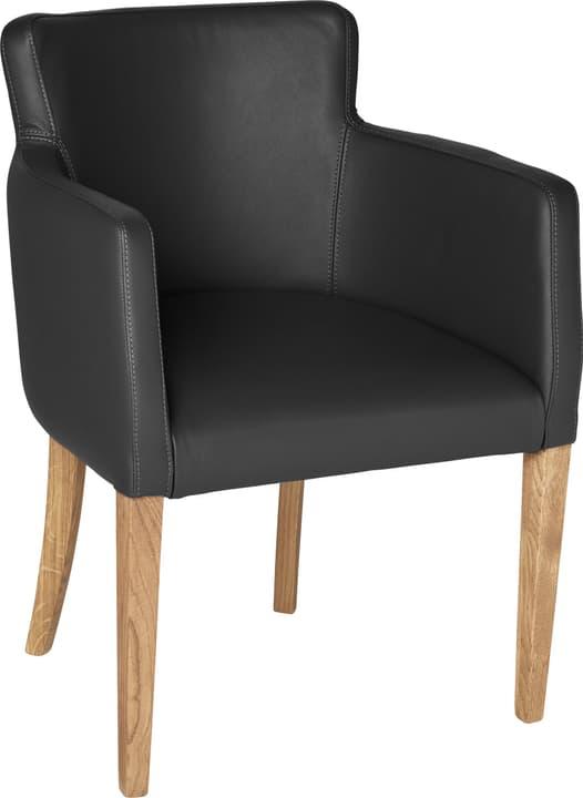 MORISANO Stuhl 402357900020 Grösse B: 56.0 cm x T: 46.0 cm x H: 79.0 cm Farbe Schwarz Bild Nr. 1