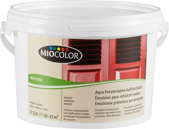 Fensterladen Auffrischlack Farblos 2.5 l Miocolor 661107400000 Farbe Farblos Inhalt 2.5 l Bild Nr. 1