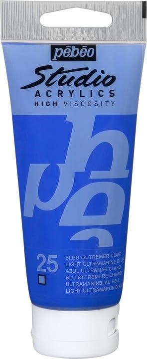 Pébéo Studio Acrylic Pebeo 663548901100 Colore Blu Oltremare N. figura 1