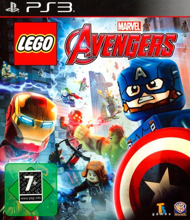 PS3 - LEGO Marvel Avengers Box 785300122558 Photo no. 1