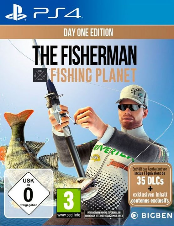 PS4 - PC - The Fisherman - Fishing Planet Day One Edition Box 785300146541 N. figura 1