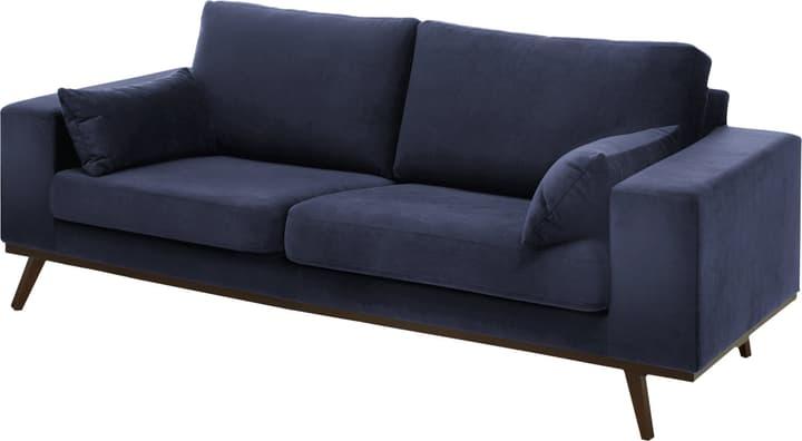 MORITZ Canapé 2.5 places 405741925343 Couleur Bleu marine Dimensions L: 218.0 cm x P: 90.0 cm x H: 81.0 cm Photo no. 1