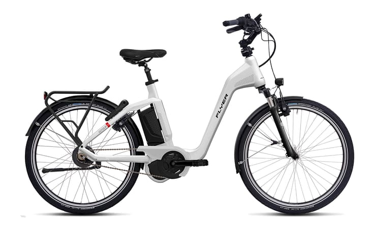 "Gotour5 7.20 28"" E-Trekkingbike FLYER 463351200410 Rahmengrösse M Farbe weiss Bild Nr. 1"