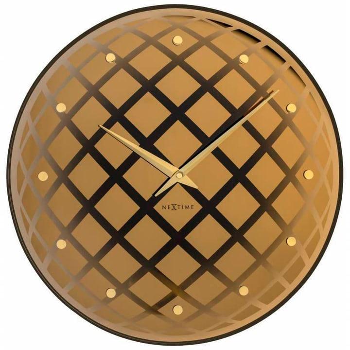 Orologio a muro Pendula Round Copper Dur Horologe murale NexTime 785300138521 N. figura 1