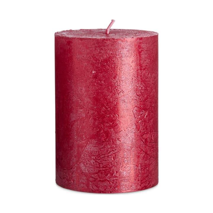 IM ZYLINDERKERZE rot glänzend D7xH10cm 390259700000 Bild Nr. 1