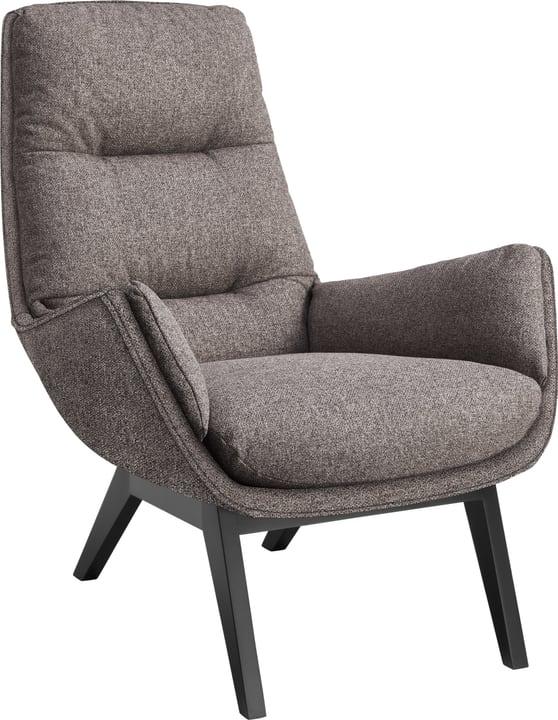 ANDRES Sessel 402473407084 Grösse B: 83.0 cm x T: 94.0 cm x H: 97.0 cm Farbe Anthrazit Bild Nr. 1