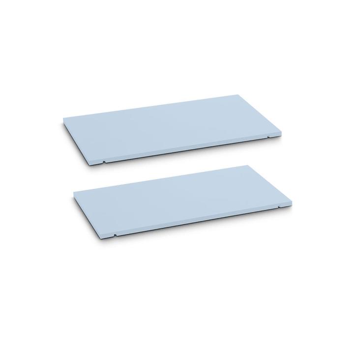 SEVEN Tablar 2er-Set 60cm 362019447904 Grösse B: 60.0 cm x T: 1.4 cm x H: 35.5 cm Farbe Blau Bild Nr. 1