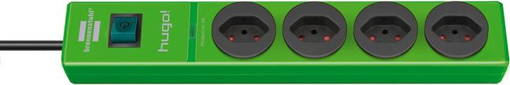 Steckdosenleiste hugo! 4fach grün Brennenstuhl 613173600000 Bild Nr. 1