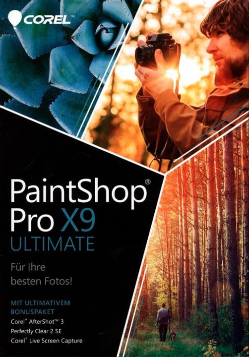 PC- PaintShop X9 Ultimate (D) Physique (Box) Corel 785300122224 Photo no. 1