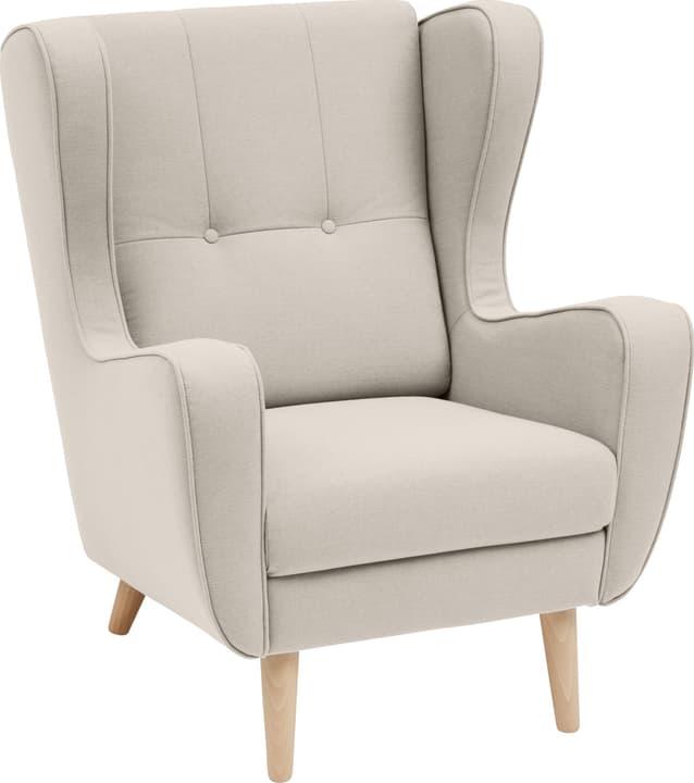 BRAHMS Sessel 402462807074 Grösse B: 80.0 cm x T: 90.0 cm x H: 97.5 cm Farbe Beige Bild Nr. 1