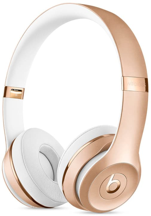 beats by dr dre beats solo3 wireless gold on ear casque. Black Bedroom Furniture Sets. Home Design Ideas